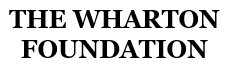 The Wharton Foundation logo