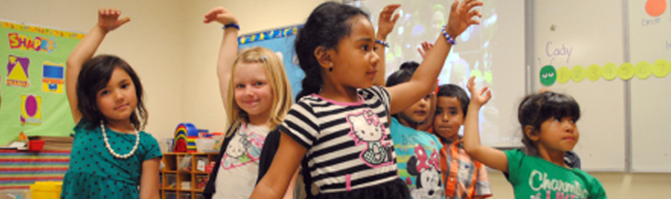 Flagstaff kindergarten children in classroom LAUNCH Flagstaff