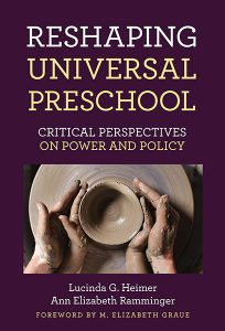 Reshaping Universal Preschool book cover